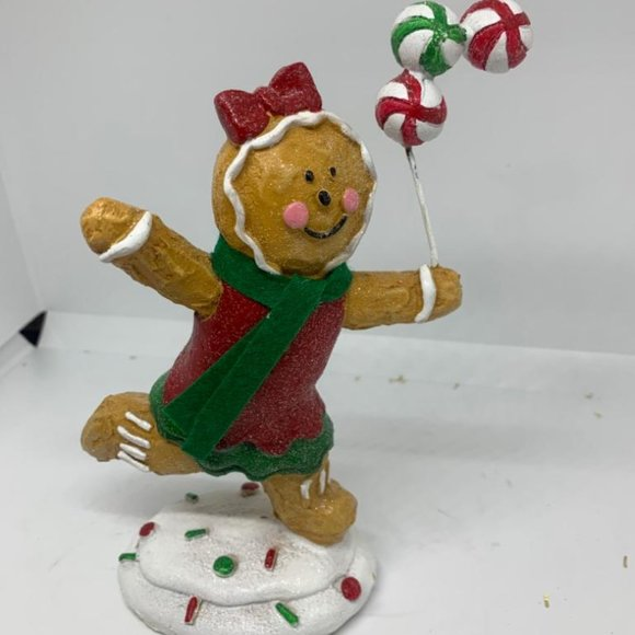 """7"""" Playing Gingerbread Figure by Valerie"""